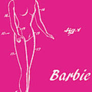 1961 Barbie Doll Patent Art 1 Poster