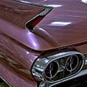 1961 Cadillac Coupe 62 Taillight Poster