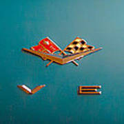 1961 Chevrolet Corvette II Poster by David Patterson