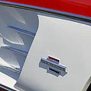 1961 Chevrolet Corvette Side Emblem Poster