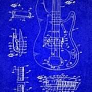 1961 Fender Guitar Poster