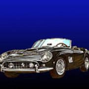 1961 Ferrari 250 G T California Poster
