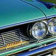 1961 Pontiac Bonneville Grille Emblem Poster