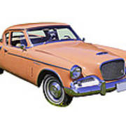 1961 Studebaker Hawk Coupe Poster