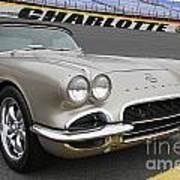 1962 Chevy Corvette Poster