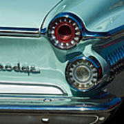 1962 Dodge Dart Taillight Poster