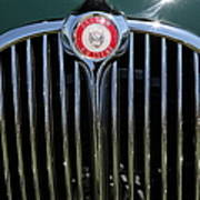 1962 Jaguar Mark II 5d23328 Poster by Wingsdomain Art and Photography