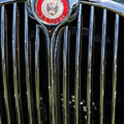 1962 Jaguar Mark II 5d23329 Poster by Wingsdomain Art and Photography