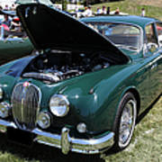 1962 Jaguar Mark II 5d23332 Poster by Wingsdomain Art and Photography