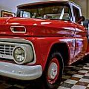 1963 Chev Pick Up Poster