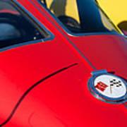 1963 Chevrolet Corvette Convertible Emblem Poster