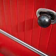 1963 Chevrolet Corvette Split Window Door Latch -185c Poster