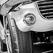1963 Chevrolet Corvette Split Window Grille -209bw Poster