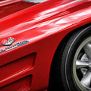 1963 Chevrolet Corvette Sting Ray Z06 Poster