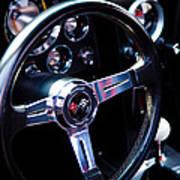 1963 Chevy Corvette Stingray Steering Wheel Poster