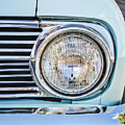 1963 Ford Falcon Futura Convertible Headlight - Hood Ornament Poster