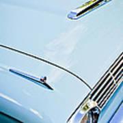 1963 Ford Falcon Futura Convertible Hood Poster by Jill Reger