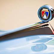 1963 Ford Falcon Futura Convertible  Hood Ornament Poster