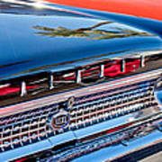 1963 Ford Galaxie 500xl Taillight Emblem Poster