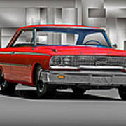 1963 Ford Galaxy 427 Cu. In. Poster