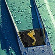 1963 Studebaker Avanti Hood Ornament Poster by Jill Reger