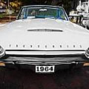 1964 Ford Thunderbird Painted Poster