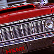 1964 Plymouth Savoy Poster by Gordon Dean II