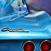 1965 Chevrolet Corvette Stingray Poster