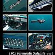 1965 Plymouth Satellite Poster