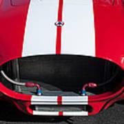 1965 Shelby Cobra Front Grille - Emblem Poster