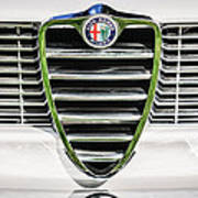 1966 Alfa Romeo Gtc Grille Emblem -1438c Poster
