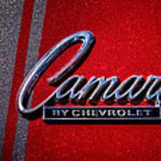 1966 Chevy Camaro Poster