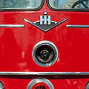 1966 International Harvester Pumping Ladder Fire Truck - 549 Ford Gas Motor Poster