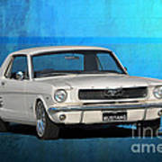 1966 Mustang Poster