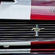 1966 Shelby Cobra Gt 350 Grille Emblem Poster