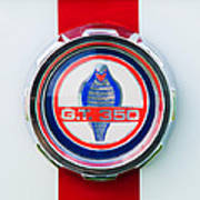 1966 Shelby Gt 350 Emblem Poster