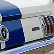 1966 Shelby Gt 350 Taillight Poster