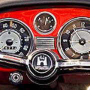 1966 Volkswagen Vw Karmann Ghia Steering Wheel Poster