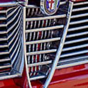1967 Alfa Romeo Giulia Super Grille Emblem Poster