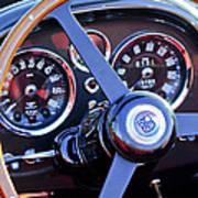 1967 Aston Martin Db6 Volante Steering Wheel 2 Poster