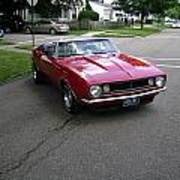 1967 Camaro Ragtop Poster