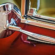 1967 Chevrolet Camaro Ss 350 Rear View Mirror Emblem Poster
