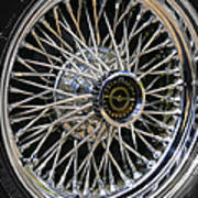 1967 Ford Thunderbird Wire Wheel Poster