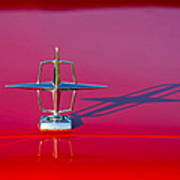 1967 Lincoln Continental Hood Ornament -158c Poster