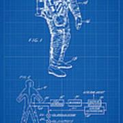 1967 Nasa Astronaut Ventilated Space Suit Patent Art 1 Poster
