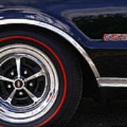 1967 Olds 442 Poster