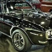 1967 Pontiac Firebird 400 Reverse Selective Color Poster