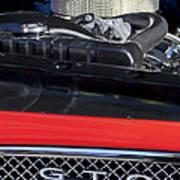 1967 Pontiac Gto Engine Emblem Poster