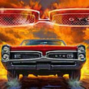 1967 Pontiac Tempest Lemans Gto  1967 Poster