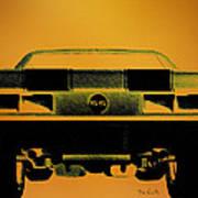 1968 Camaro Ss  Full Rear Poster